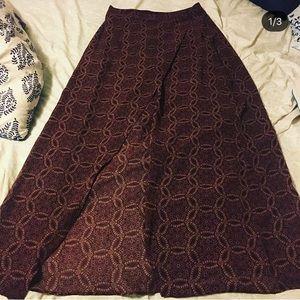 Mandala printed skirt